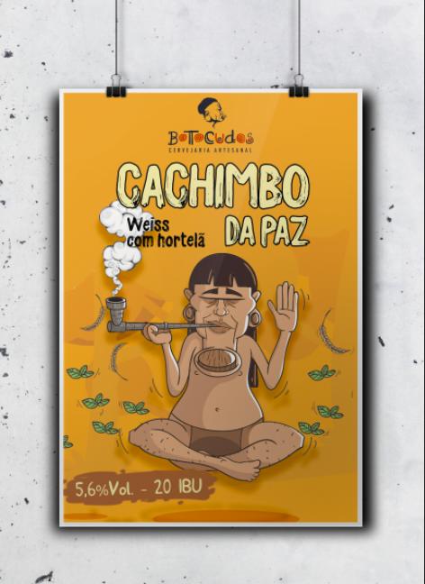 Poster Cachimbo da Paz