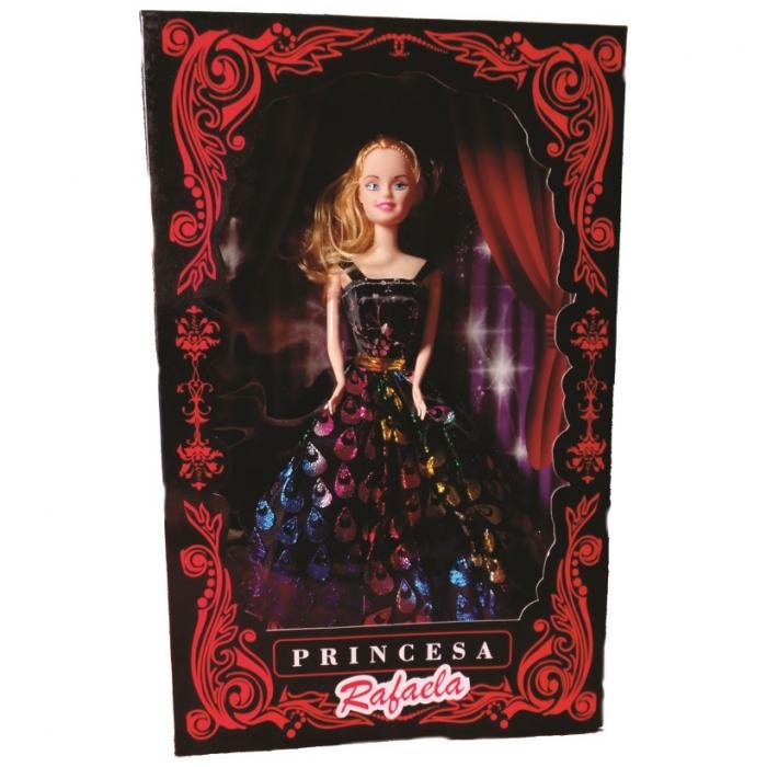 boneca princesa Rafaela na caixa