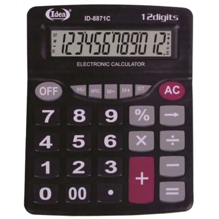 calculadora de mesa comercial escrit�rio display 12 d�gitos