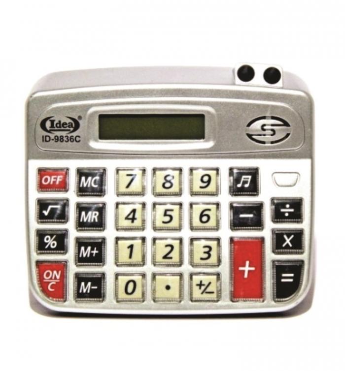 calculadora de mesa comercial escrit�rio display 8 d�gitos