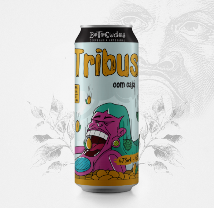 Tribus - Juicy IPA com cajá - 473 m...