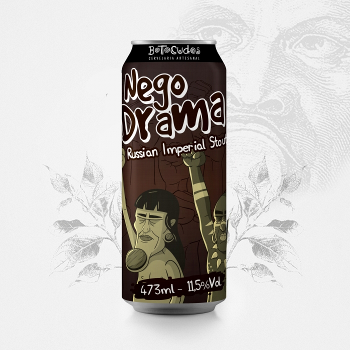 Nego Drama - Russian Imperial Stout - 473 ml