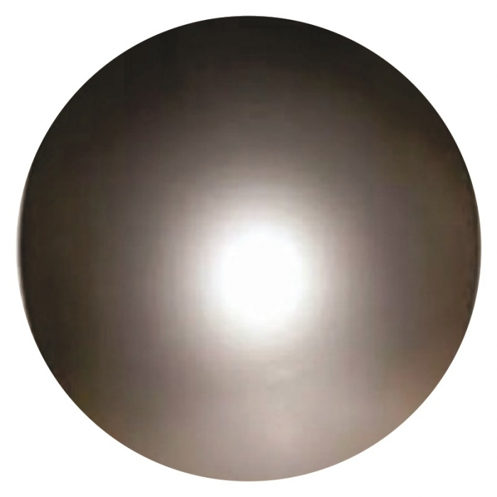 10 bol�es de vinil lisa prata 36 cm decora��es coloridas grande