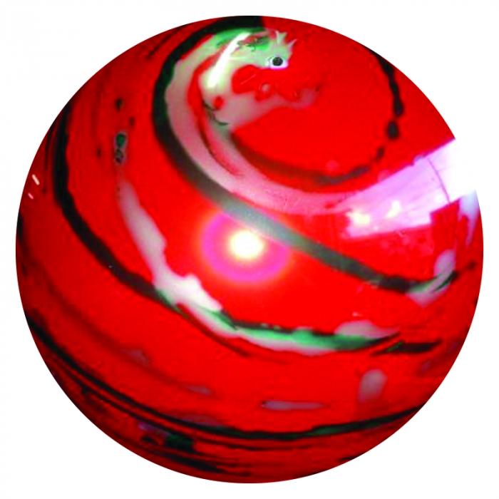 100  bola bol�o de vinil marmorizada 36 Cm coloridas