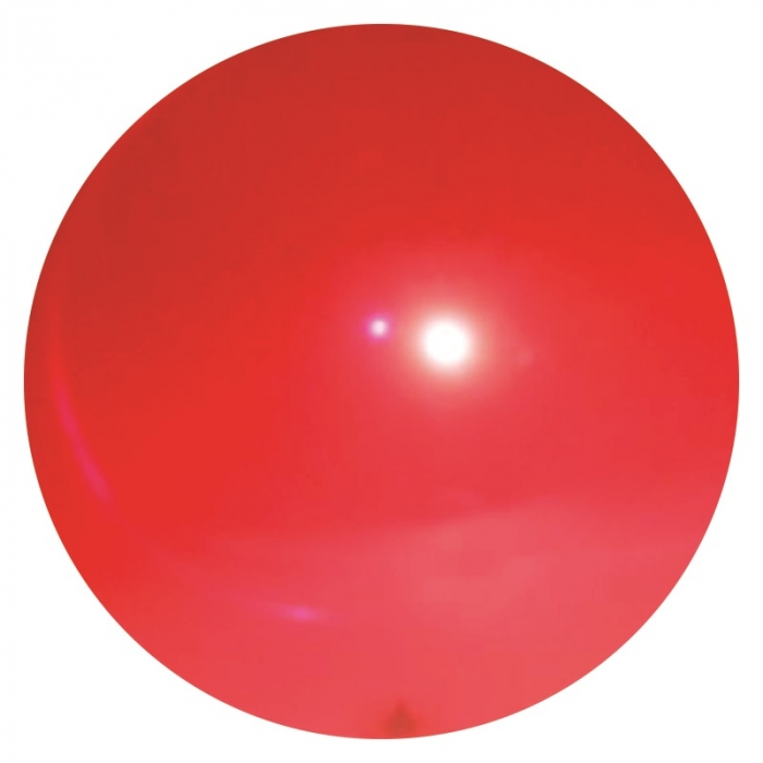 100 bol�es de vinil lisa vermelho 36 cm decora��es coloridas grande