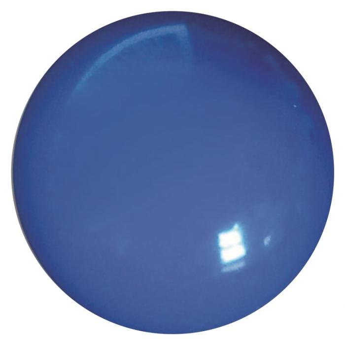 100 bol�es de vinil lisa azul 36 cm decora��es coloridas grande