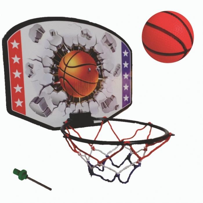 kit basquete infantil arco tabela bola e bico