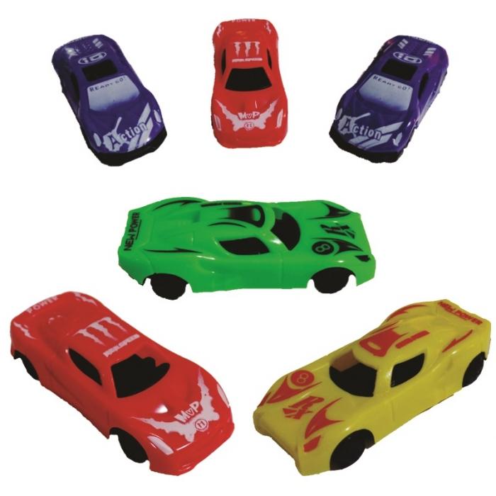kit carrinhos com 6 pe�as brinquedo infantil