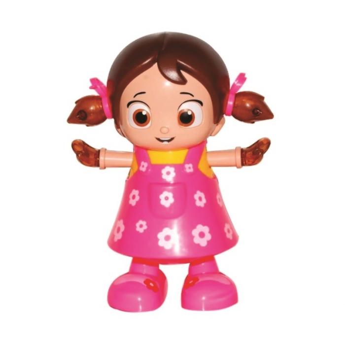 Boneca musical canta dança e acende luz dance girl