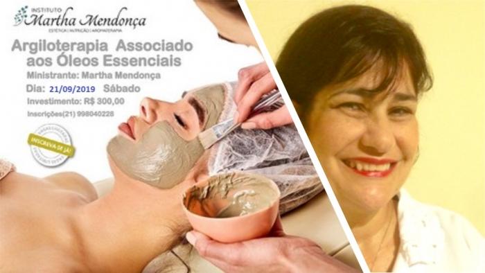 Inscrição: Curso de argiloterapia associado aos óleos essenciais