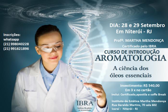 Inscrição:Curso Introdução à Aromatologia IBRA