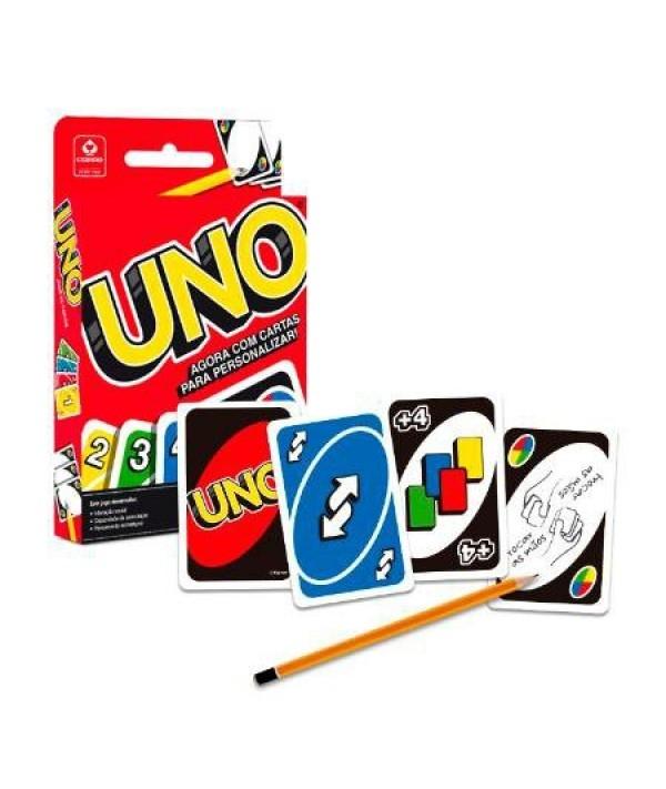 jogo baralho uno cards original copag