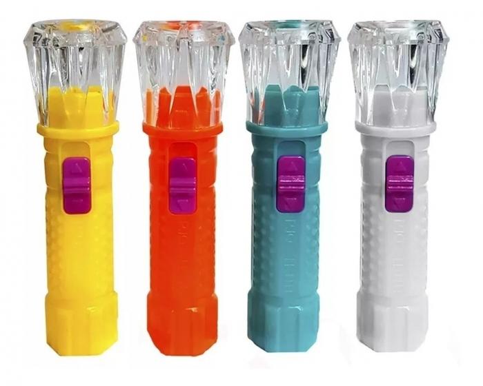 12 chaveiros lanternas mini de led lembran�a anivers�rio