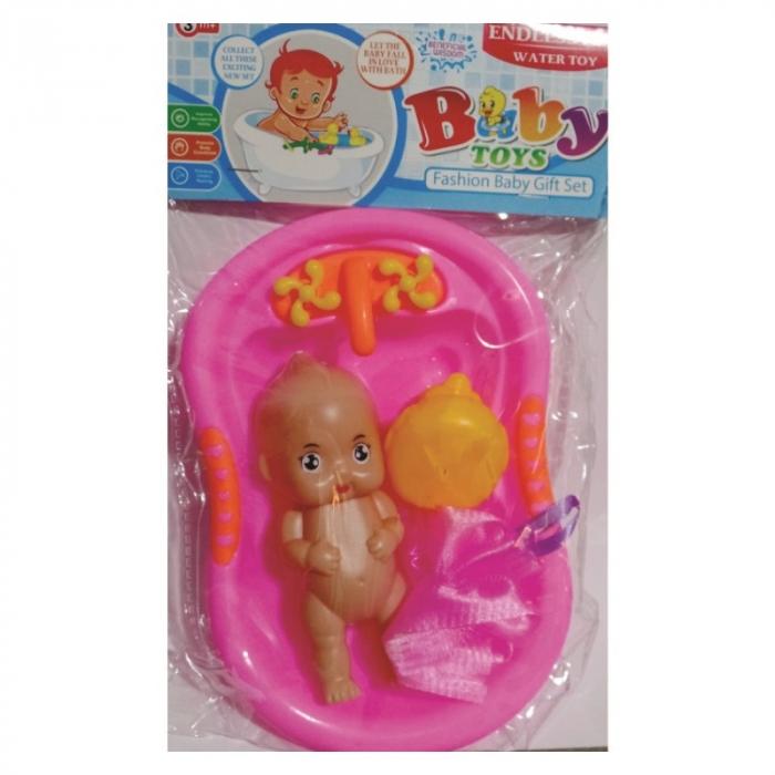 banheira de brinquedo para boneca