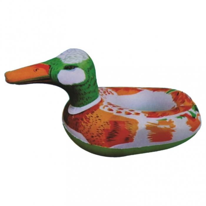 bote boia infantil infl�vel pato bebe piscina
