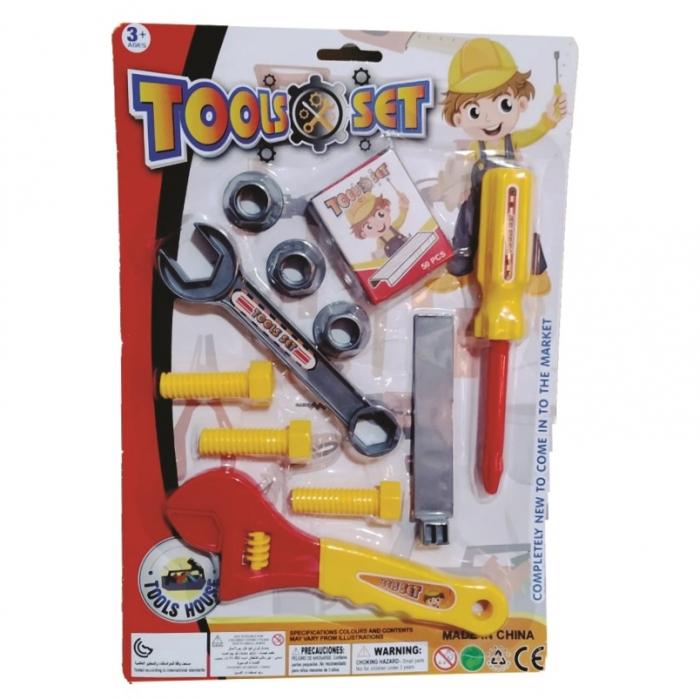 kit ferramenta infantil jogo com 11 pe�as