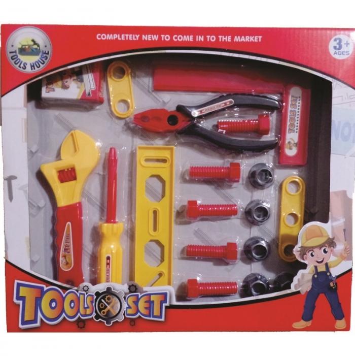 kit ferramenta infantil jogo com 18 pe�as