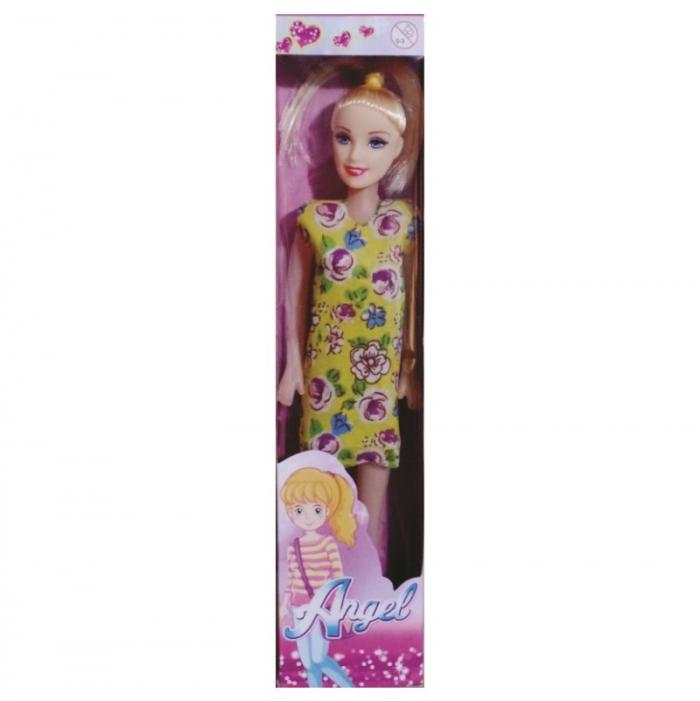 boneca magrela Angel na caixa com sand�lia salto fino