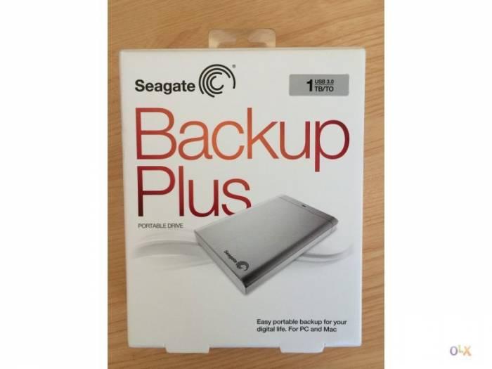 HD EXTERNO 1TB SEAGATE USB 3.0 PRATA