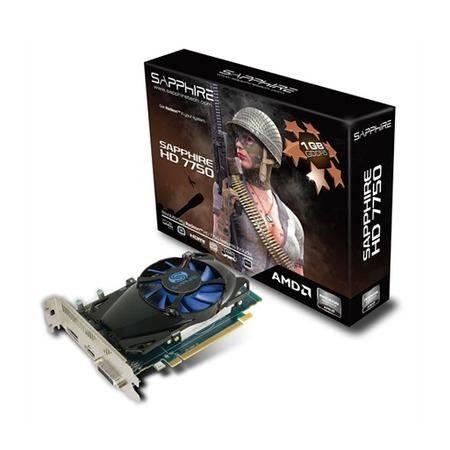 PLACA DE VÍDEO HD 7750 1GB DDR 5