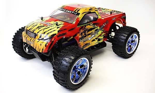 AUTOMODELO HIMOTO MONSTER BRUSHELES 1/10   4WD
