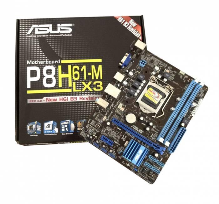 PLACA MÃE ASUS  LGA 1155  P8H61-M LX 3