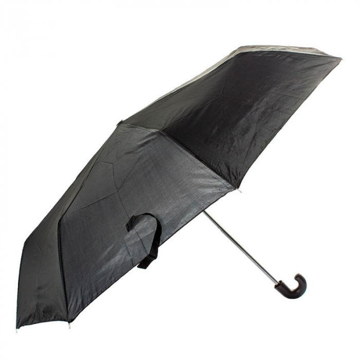 guarda chuva preto masculino de bolsa 8 varetas