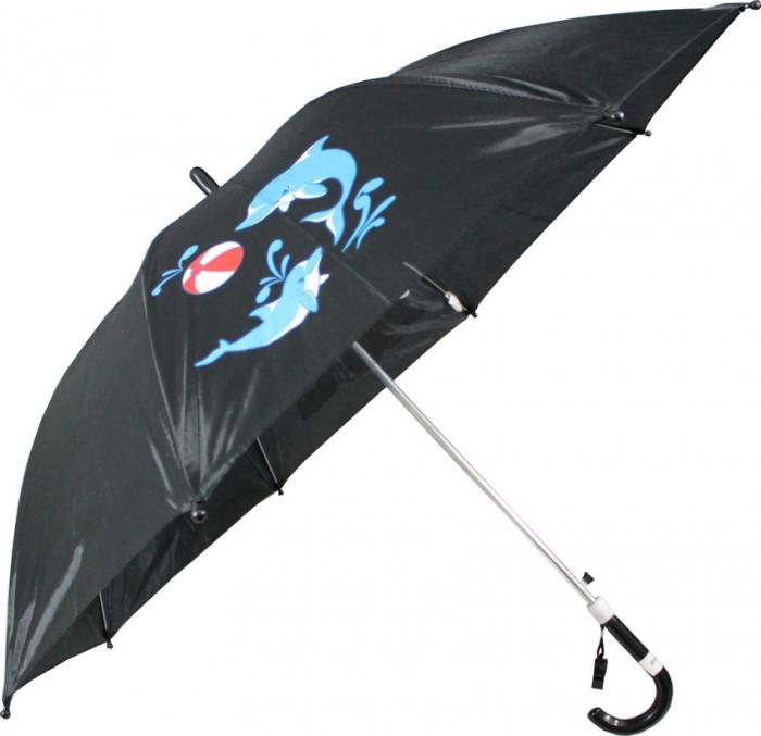 guarda chuva infantil masculino preto autom�tico