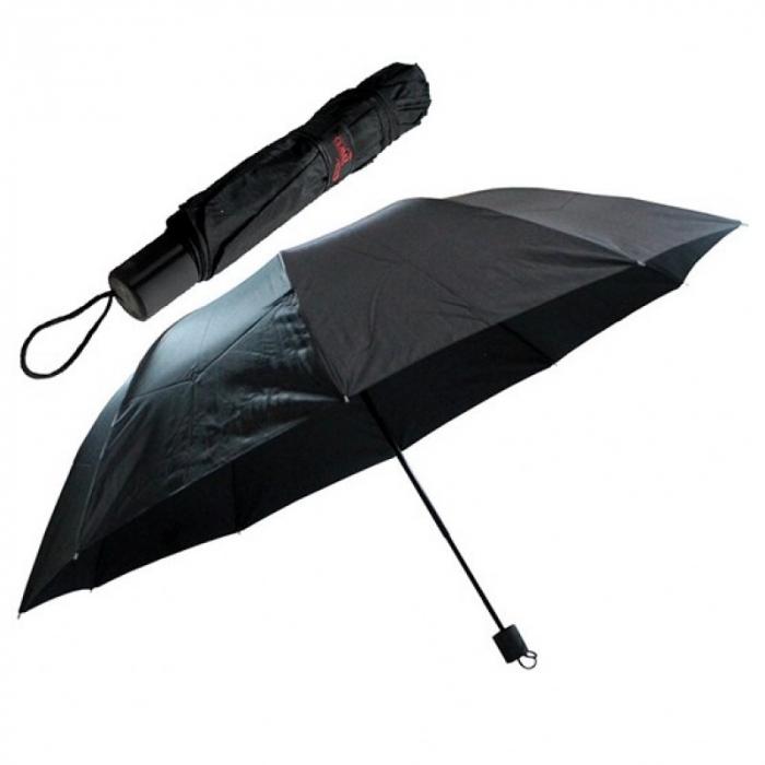 sombrinha guarda chuva preto de bolsa 8 varetas