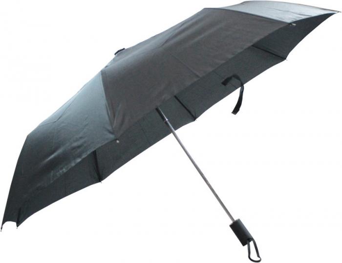 sombrinha guarda chuva preto de bolsa dobr�vel 10 varetas