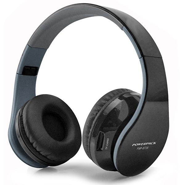 FONE DE OUVIDO FMP-BT38 MP3/ Cartão MicroSD/ Rádio FM - Preto BLUETOOTH