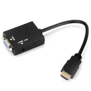 CONVERSOR HDMI  VGA COM AUDIO