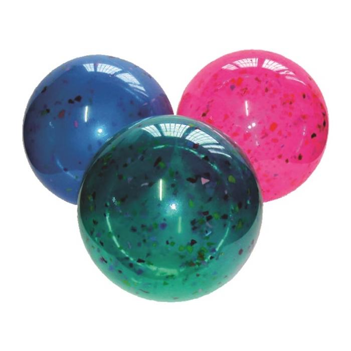 bola de vinil confete 21 cm de futebol vazia