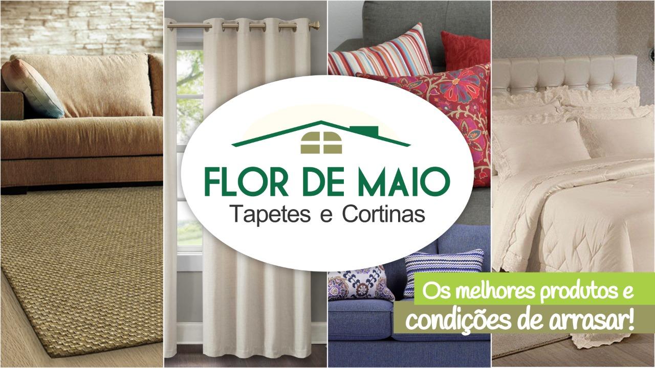 FLOR DE MAIO DECORAÇÕES, TAPETES E CORTINAS.