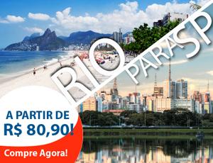 Passagem de ônibus do Rio de Janeiro para São Paulo