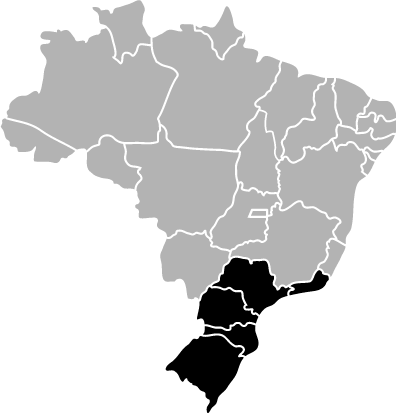 Passagens da Brasil Sul para todo o Brasil
