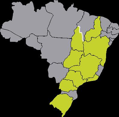 Passagens da Costa Verde para todo o Brasil
