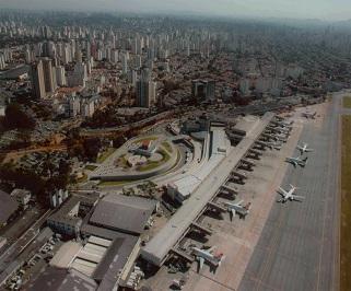 Passagem de onibus da Expresso Luxo de Santos para Aeroporto Congonhas