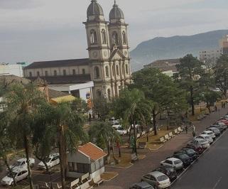 Passagem de onibus da Viação União Santa Cruz de Florianopolis para Santa Maria