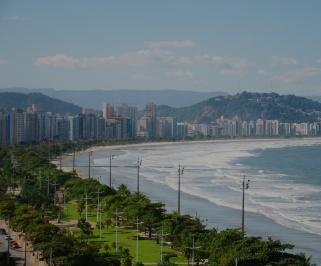 Passagem de onibus da Rápido Brasil de Sao Paulo para Santos