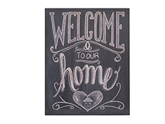 Quadro Welcome Home