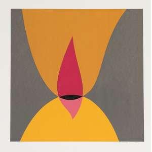ABRAHAM PALATNIK<br>Sem Título<br>gravura a cores impressa s/ papel, ass. e dat.2006 inf. dir. e num. 36/55 inf. esq. <br>M.E. 50 x 50 cm M.I. 40 x 40 cm