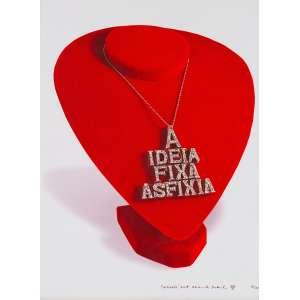 ALEXANDRE DACOSTA<br>Insígnia (Poema-Objeto)<br>fotografia impressa s/ papel, ass., dat. 2008, num. 10/20 e tit. inf. dir. (foto Marcos Vianna)<br>40 x 30 cm