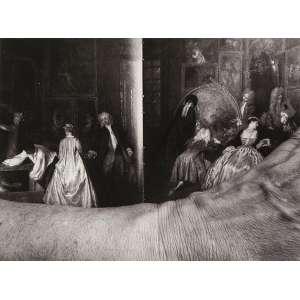 AMADOR PEREZ<br>DVWC Watteau<br>pigmento mineral s/ papel de algodão, ass., dat. 2019, com a indicação P.A. /h.c. e tit. no verso (tiragem original - 5 exemplares)<br>9 x 12 cm