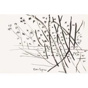 ELIAS FAJARDO<br>Bambuzal<br>nanquim s/ papel alcalino, ass. centro inf. (2000)<br>15,5 x 23 cm