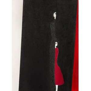 SANDRA MACEDO<br>Sem Título<br>acrílica s/ tela, sem ass. (2019)<br>40,5 x 30 cm