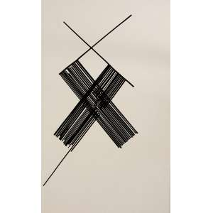 ROMANO<br>Sem Título<br> fita isolante s/ papel<br> 55 x 35 cm