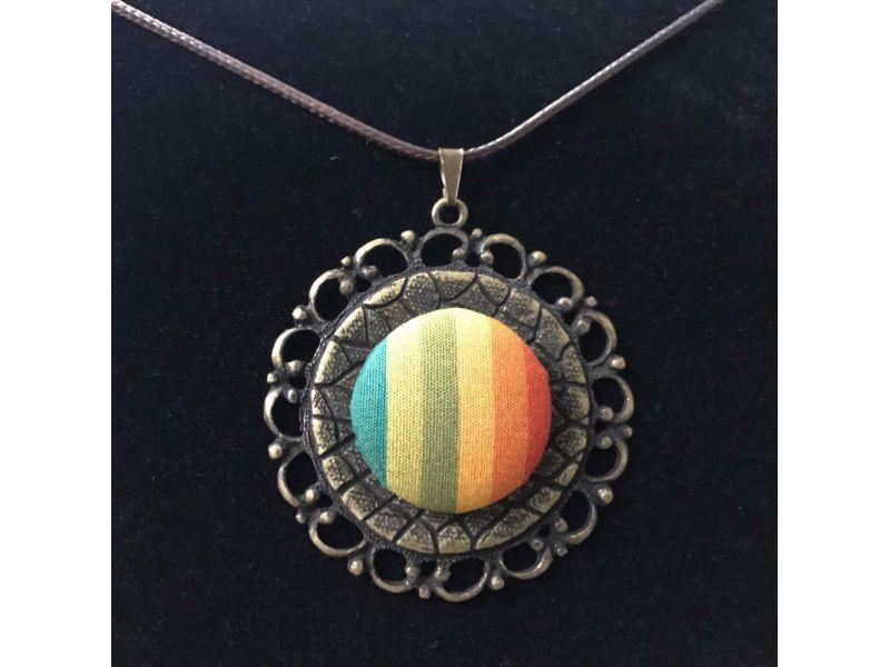 Colar Mandala Vintage