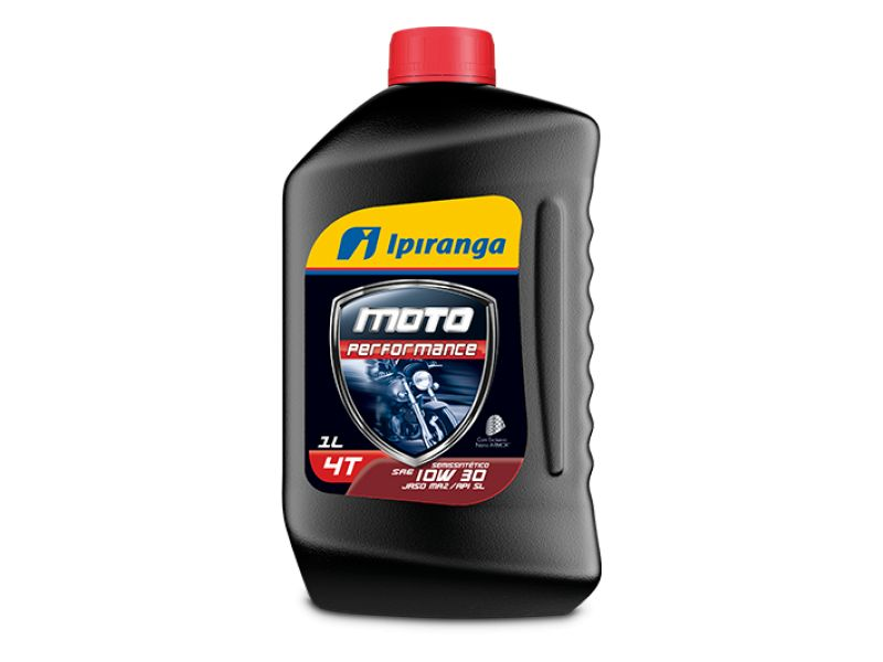 Óleo para Moto 10W30  flex  Honda, Yamaha, Cg, Cbx, Cb,  Ipiranga Moto Performance