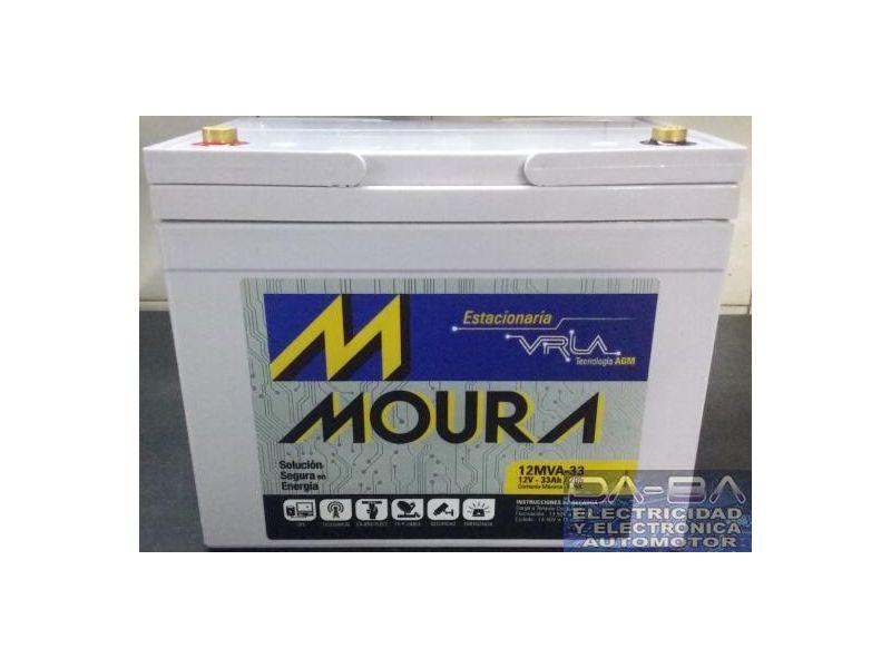 Bateria Moura 12v 33ah Moura Vrla 12mva-33